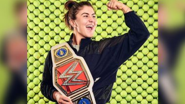 Bianca Andreescu Receives Customized WWE Belt After Conquering US Open 2019 (See Picture)