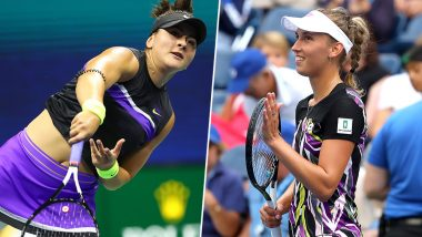 Bianca Andreescu vs Elise Mertens, US Open 2019 Live Streaming & Match Time in IST: Get Telecast & Free Online Stream Details of Quarter-Final Match in India