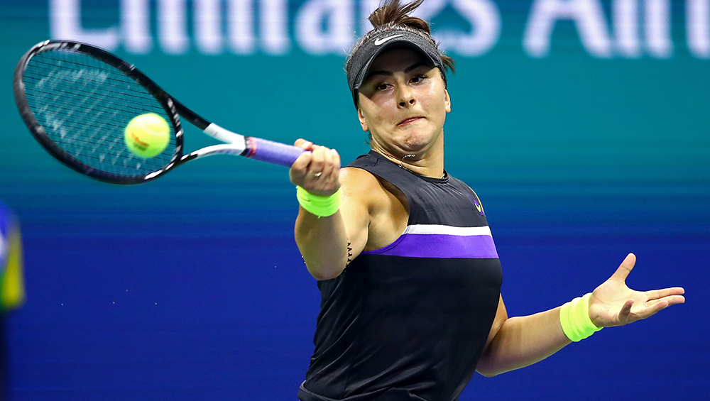 Bianca Andreescu, US Open Champion, Wins Canada's Athlete of the Year Award 2019