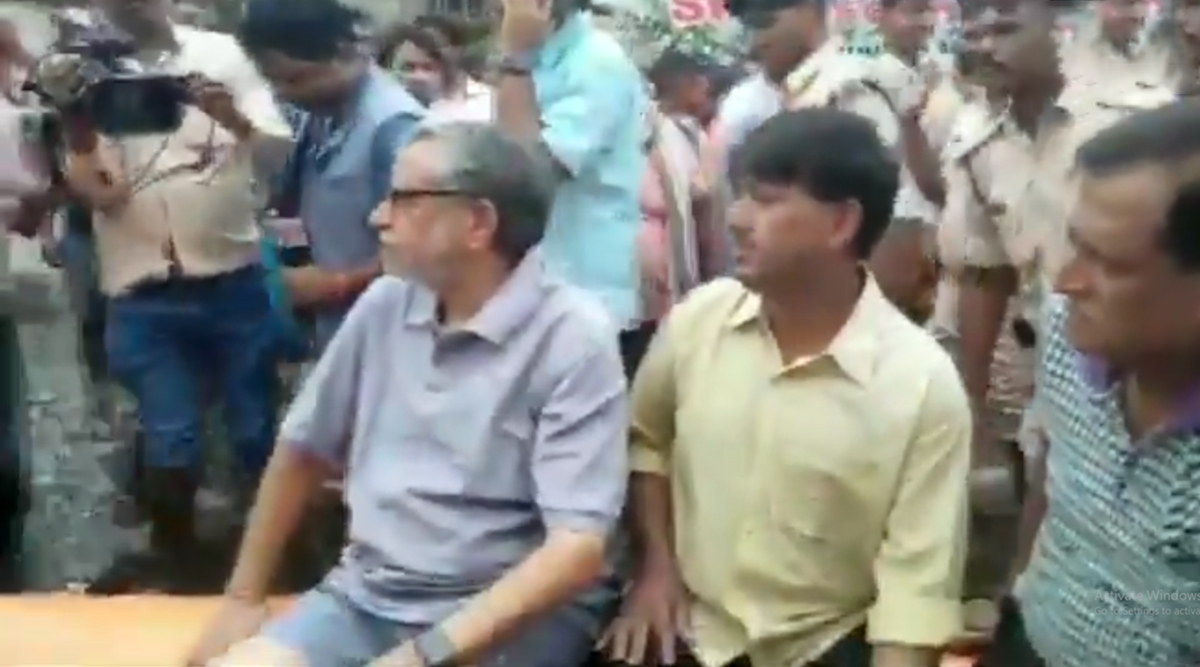 Bihar Floods: Deputy Chief Minister Sushil Kumar Modi Stranded at His Patna Residence, Rescued; Watch Video