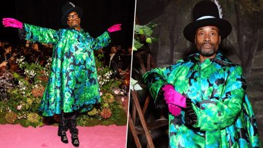 Billy Porter Makes a Dramatic Entrance at the London Fashion Week With Impeccable Style (View Pics)