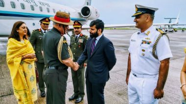 Chief of the Army Staff, General Bipin Rawat Embarks on 5-Day Visit to Maldives, See Pics