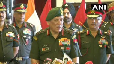 Indian Army Backs Disability Pension, Deliberations Only for Income Tax Exemption: General Bipin Rawat