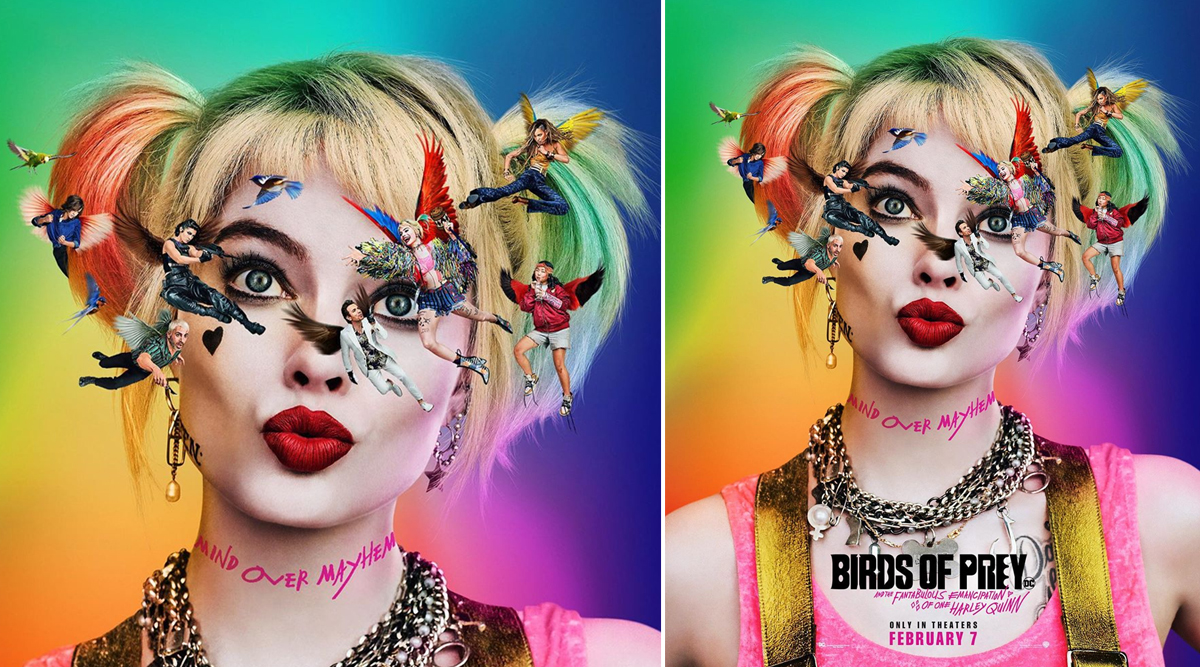 Birds Of Prey New Poster Margot Robbie As Harley Quinn Imagines Everyone With Wings In This Trippy Poster Latestly