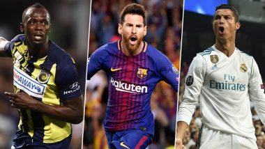 Cristiano Ronaldo's Fan Usain Bolt Calls Lionel Messi a Genius
