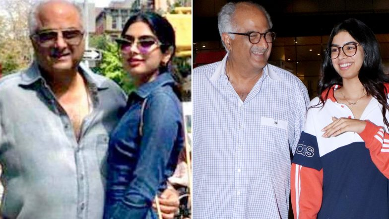 Boney Kapoor's Pic with Khushi Goes Viral! Father-Daughter Duo Spend Quality Time in New York