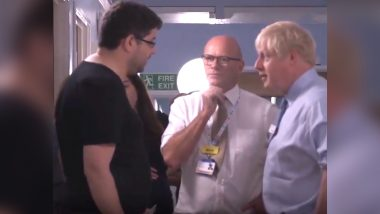Boris Johnson Confronted by Angry Father of Sick Child During London Hospital Visit, Told NHS Being Destroyed - Watch Video