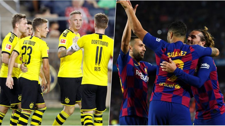 Borussia Dortmund vs Barcelona, UEFA Champions League Live Streaming Online: Where to Watch CL 2019–20 Group Stage Match Live Telecast on TV & Free Football Score Updates in Indian Time?