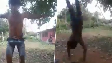 Video of Young Boy Performing 30 Somersaults in One Attempt Goes Viral, Netizens Want Sports Authority of India to Take Notice