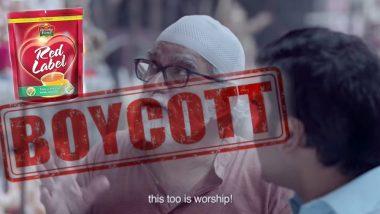 Red Label's Latest Ad For Ganeshotsav 2019 on Communal Harmony Faces Backlash, Netizens Trend #BoycottRedLabel on Twitter 'For Hurting Sentiments'