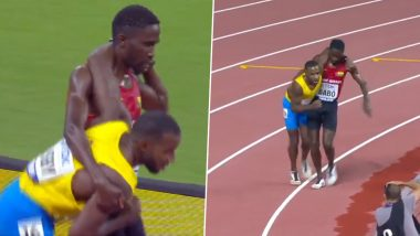 World Athletics Championships 2019: Braima Suncar Dabo Shows True Sportsman Spirit by Helping Injured Rival Racer Jonathan Busby Complete 5000m Marathon (Watch Video)