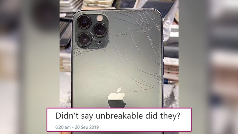 This Is How Cracked Apple iPhone 11 Pro Looks Like; Pic of Expensive Phone's Broken Camera Lenses Leaves Internet With Mixed Feeling