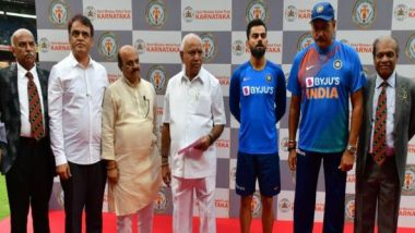 Karnataka Cricket Association Donates Rs 10 Lakh in CM Relief Fund for Flood-Relief