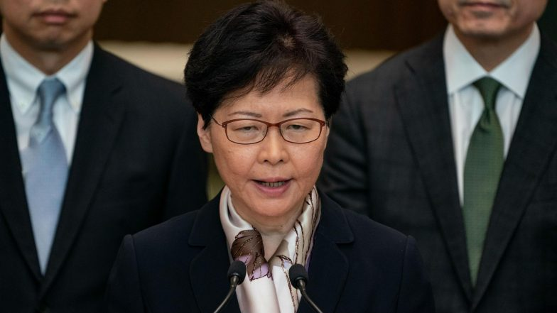 China Coronavirus Outbreak: Hong Kong Leader Carrie Lam Issues 'Highest Level of Emergency', All Schools to Remain Closed