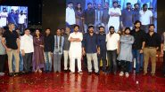 Sye Raa Narasimha Reddy Pre-Release Event Pics: Chiranjeevi, Ram Charan, Vijay Sethupathi and Other Cast Members Grace the Ceremony