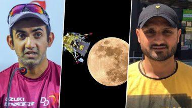 Chandrayaan 2 Heartbreak: Gautam Gambhir, Harbhajan Singh and Other Sportspersons Laud ISRO's Efforts