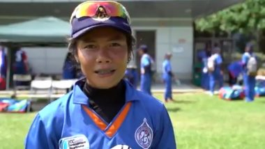 Chanida Sutthiruang Picks Three Wickets, Wins Player of the Match Award After Guiding Thailand to Victory Over Netherlands in ICC Women's T20 World Cup Qualifier 2019 Match