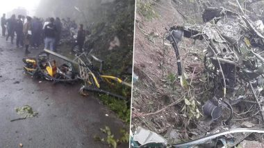 Indian Army Cheetah Helicopter Crashes in Bhutan, 2 Dead