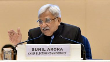 EC Decides Not to Extend Postal Ballot Facility For Voters Above 65 Years in Bihar Assembly Elections And By-Polls