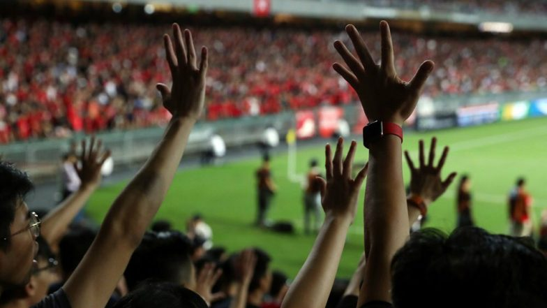 FIFA World Cup 2022 Qualifiers: Hong Kong Spectators Boo Chinese Anthem at Football Stadium