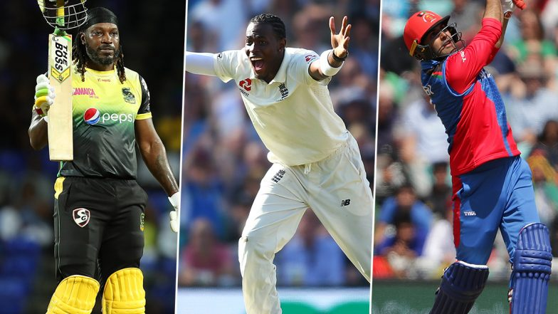 Cricket Week Recap: From Chris Gayle's Mayhem to Jofra Archer's Match-Winning Spell to Mohammad Nabi's Blitz, A Look at Finest Individual Performances