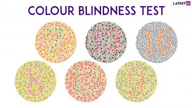 Colour Blindness Awareness Day 2019: Take This Color Blindness Test to See If You Can See All Colours