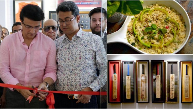Kolkata's First Cricket-Themed Restaurant 'Pavilion' Inaugurated by Sourav Ganguly