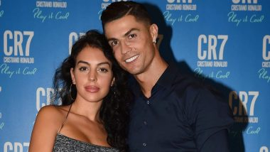 Cristiano Ronaldo and Girlfriend Georgina Rodriguez Dazzle Together at CR7 Fragrance Launch; Check Out Cute Pics of the Adorable Couple