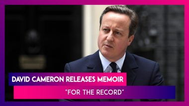 David Cameron's Memoir 'For the Record': 5 Things Revealed About Manmohan Singh And Narendra Modi