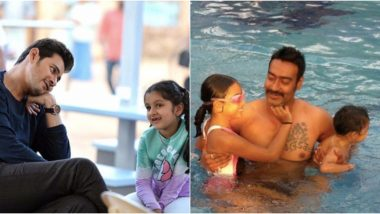 Daughters' Day 2019: Mahesh Babu, Ajay Devgn and More Celebrities Share Adorable Posts on This Special Day