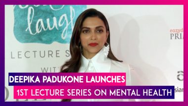 Deepika Padukone: Long Way To Go For Creating Awareness About Mental Health