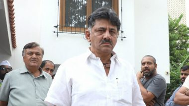 DK Shivakumar Arrest: Congress Leader to Remain in ED Custody Till September 17