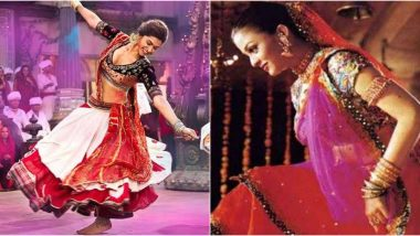 Navaratri 2019: From Deepika Padukone to Aishwarya Rai Bachchan, Here are Some of the Most Amazing Garba Looks in Bollywood (View Pics)
