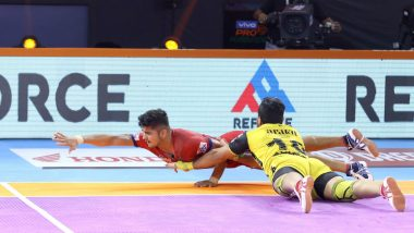 PKL 7 Match Report: Naveen Kumar Stars as Dabang Delhi KC Beat Telugu Titans 37-29
