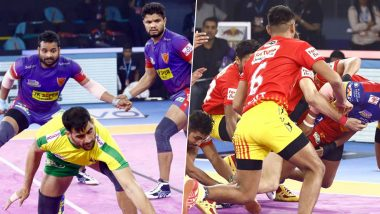 Dabang Delhi vs Gujarat Fortunegiants PKL 2019 Match Free Live Streaming and Telecast Details: Watch DEL vs GUJ, VIVO Pro Kabaddi League Season 7 Clash Online on Hotstar and Star Sports