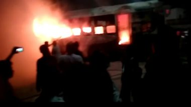 Fire Breaks Out at Bihar Sampark Kranti Superfast Express, No Casualties Reported So Far