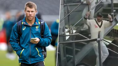 David Warner Responds THIS Way After a Fan Abuses Him During Ashes 2019 4th Test at Old Trafford Stadium (Watch Video)