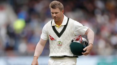 David Warner Posts Heartfelt Message on Instagram After Poor Outing in Ashes 2019, Thanks Fans for Supporting Australian Cricket Team