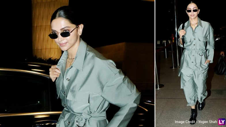 Yo or Hell No? Deepika Padukone's Grey Jumpsuit at the Airport