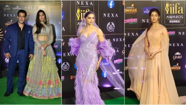 IIFA20 Awards 2019 Green Carpet Pics: Salman Khan, Saiee Manjrekar, Deepika Padukone, Alia Bhatt and Other Bollywood Celebs Make a Stylish Appearance