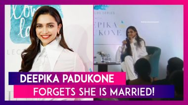 Deepika Padukone Forgets She Is Married To Ranveer Singh, Video Goes Viral