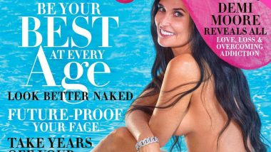 Demi Moore Strips Naked for Harper's Bazaar October 2019 Mag Cover; Speaks About Her Dysfunctional Childhood, Addiction and More