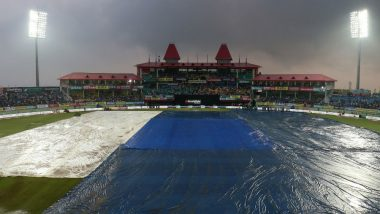 India vs South Africa: Rain Plays Spoilsport in IND vs SA 1st T20I at Dharamsala