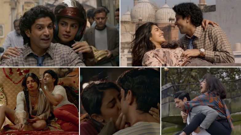 Dil Hi Toh Hai Song from The Sky Is Pink: Priyanka Chopra and Farhan Akhtar's Crackling Chemistry in This Love Ballad is Simply Adorable (Watch Video)
