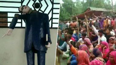 Uttar Pradesh: Dr Ambedkar Statue Vandalised in Saharanpur, Villagers Protest