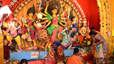 Shri Durga Stuti Paath With Lyrics for Navratri 2019: Watch Video of Anuradha Paudwal's Devotional Song and Mantra to Worship Maa Durga