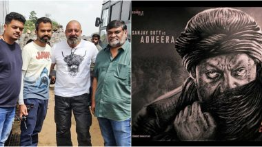 KGF Chapter 2: Sanjay Dutt Begins Shooting in Hyderabad, Shaves His Head for Adheera's Character (See Pics)