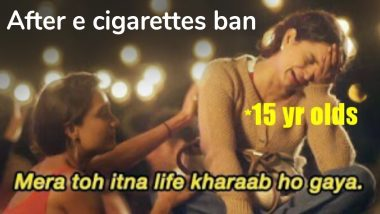 E-Cigarettes Banned In India, And As Expected, Funny Memes and Hilarious Jokes Go Viral on Twitter