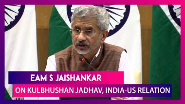 S Jaishankar On India's Objective Behind Seeking Access To Kulbhushan Jadhav & India-US Bilateral