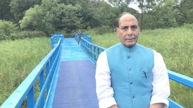 Defence Minister Rajnath Singh Holds Telephonic Talks With French Counterpart Florence Parly